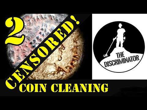 How to clean old coins 2