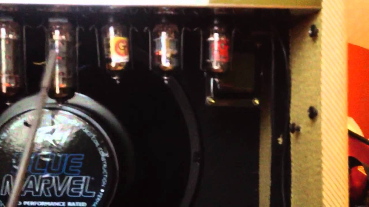 Guitar amplifier tube is bad