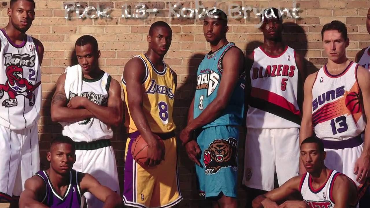 1996 NBA Draft 20th Anniversary  Kobe Bryant - YouTube 4e5794080