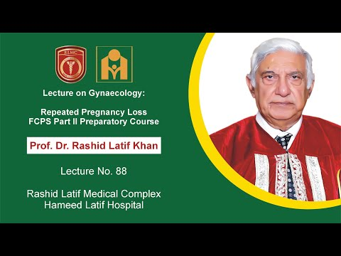 Lecture on Gynaecology: Repeated Pregnancy Loss