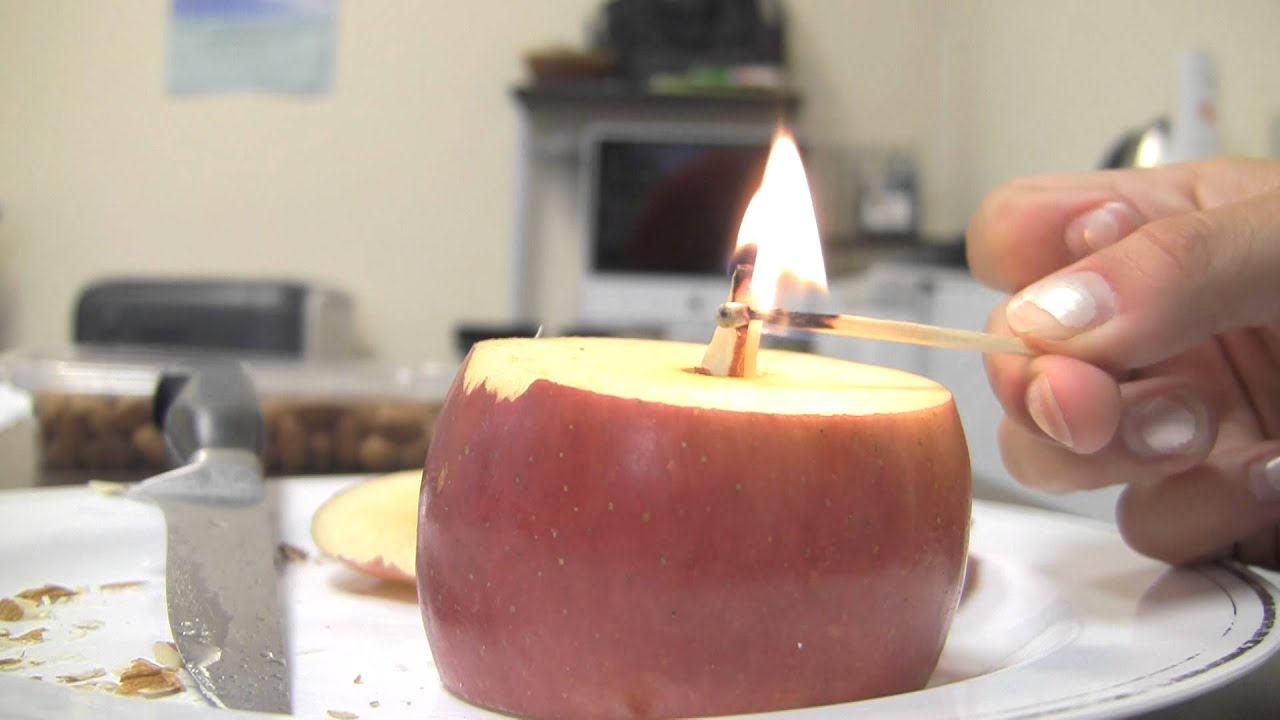 Kitchen Chemists: Edible Candle