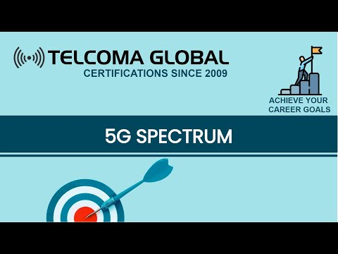 5G Spectrum and bandwidth requirements - TELCOMA Training