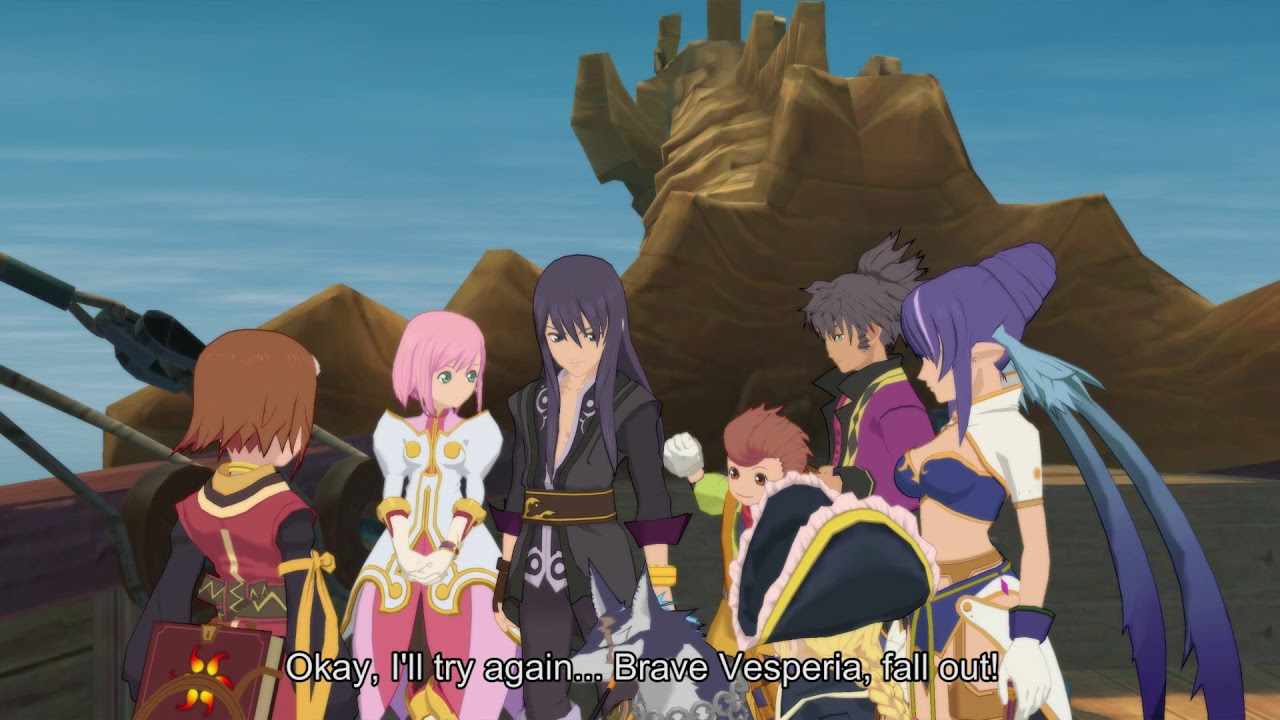 Tales Of Vesperia Definitive Edition Story Trailer Reveals
