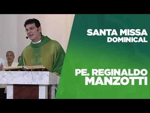 SANTA MISSA DOMINICAL   PADRE REGINALDO MANZOTTI   18/11/2018