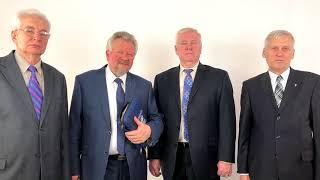 Пасхальное поздравление от председателей РС ЕХБ