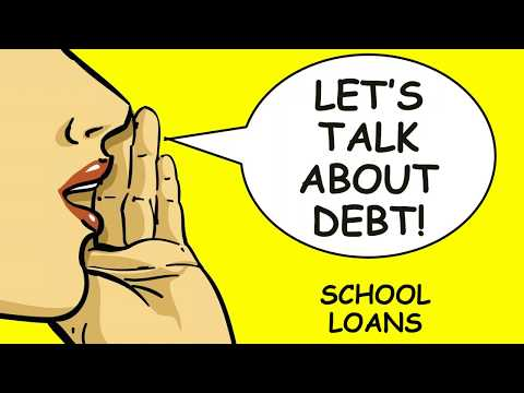 Student Loans - Let's Talk about Debt!