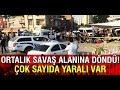 Adanada ortalık savaş alanına döndü Çok sayıda yaralı var!