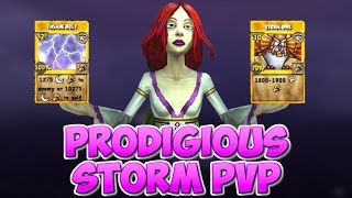 Wizard101: Prodigious Storm Quick Match 2v2 [Part 1]