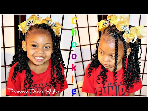 Cute Hairstyle | KidsBox Crochet Hair | Giveaway thumbnail