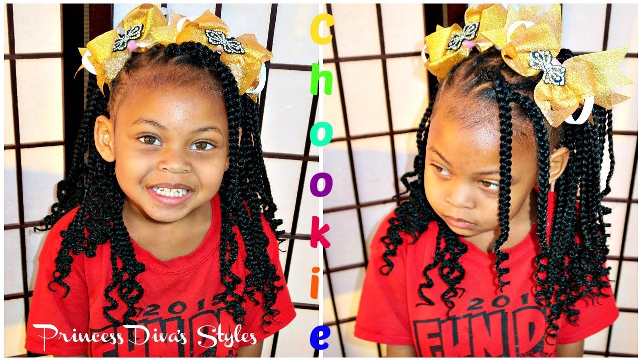 Cute Hairstyle Kidsbox Crochet Hair Giveaway Youtube
