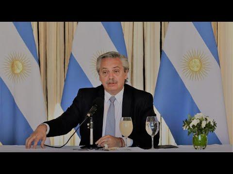 Alberto Fernández anunció la extensión de la #cuarentena hasta el 10 de mayo- Telefe Noticias