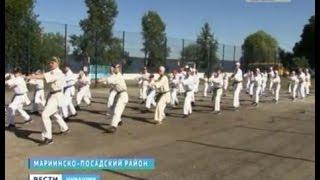 Юные каратисты шлифуют спортивное мастерство в летнем лагере «Белые камни»