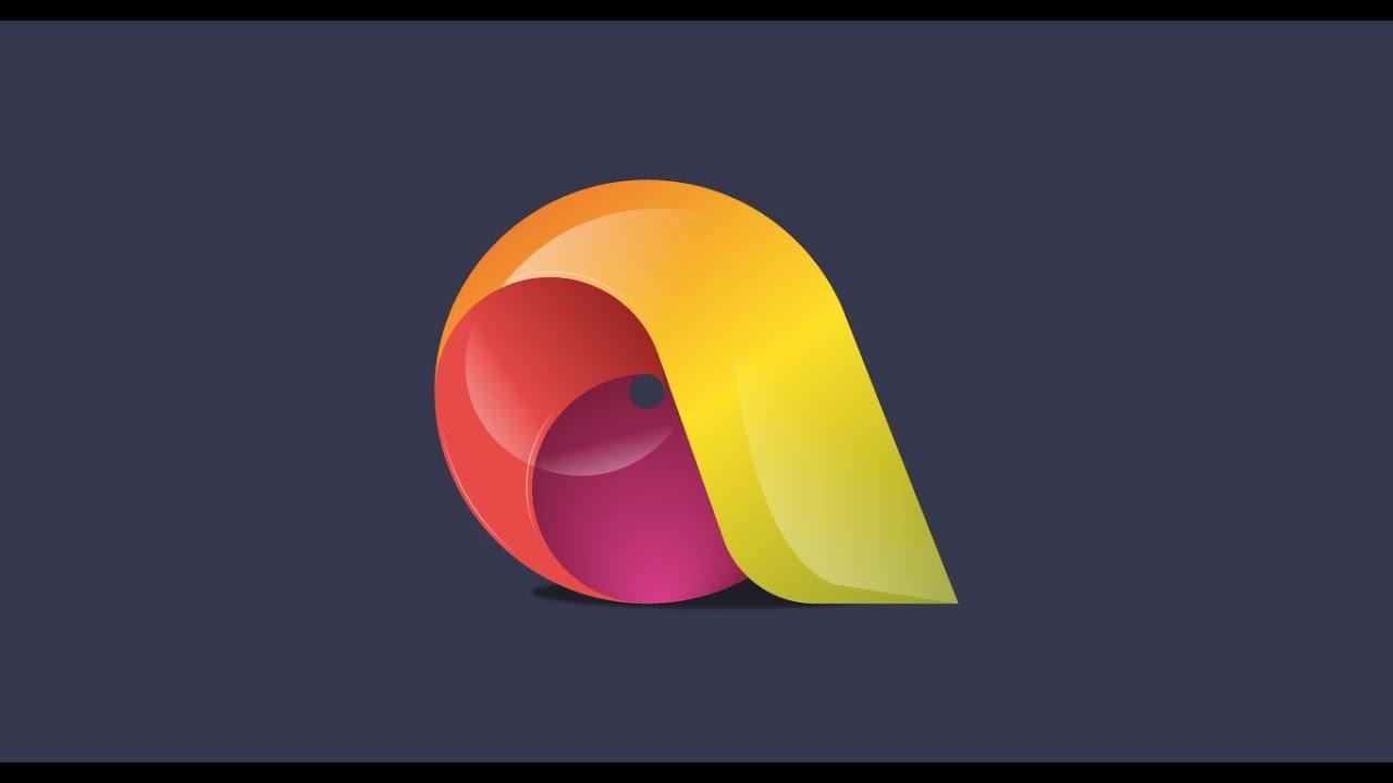 10# Adobe Illustrator CC - Logo Design - YouTube