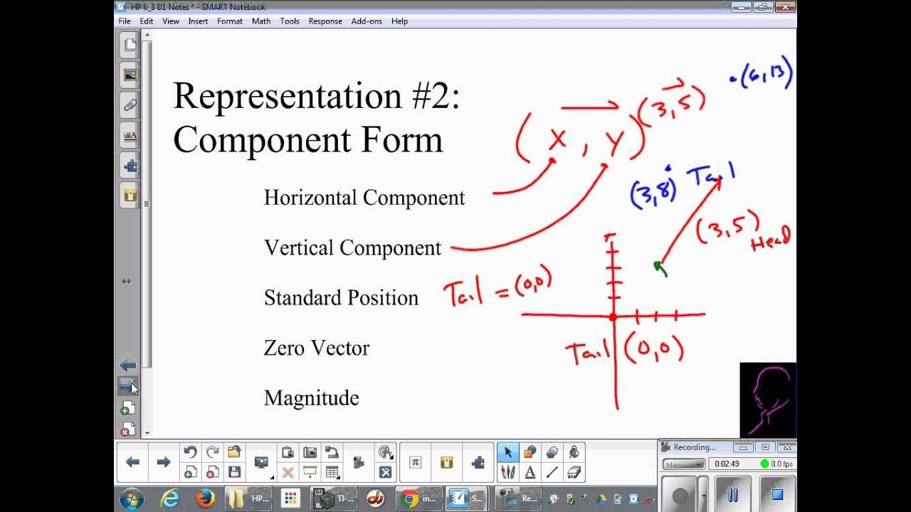 Vectors: Component Form - YouTube