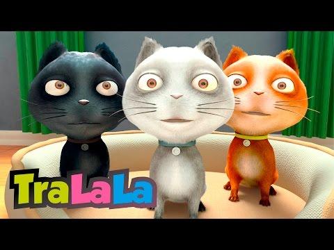 Trei pisicuțe (Three Little Kittens în română)   TraLaLa