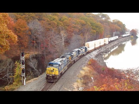 Hudson Line Mountainside Rail-Fanning! @ Fort Montgomery NY!