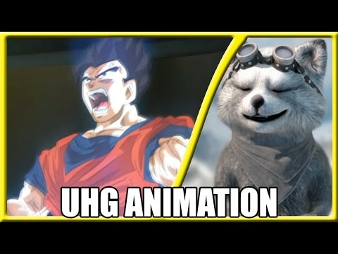 #REACT - Gohan ssj White vs Jiren - Fan Animation - DB SUPER S (UHG Animation)