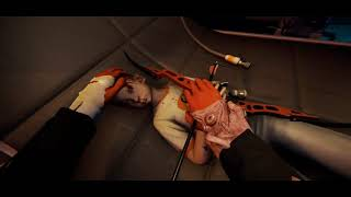 #Баг с луком и игрушкой #TheForest (фрагмент из трансляции Santila, Neon, MOXHO)