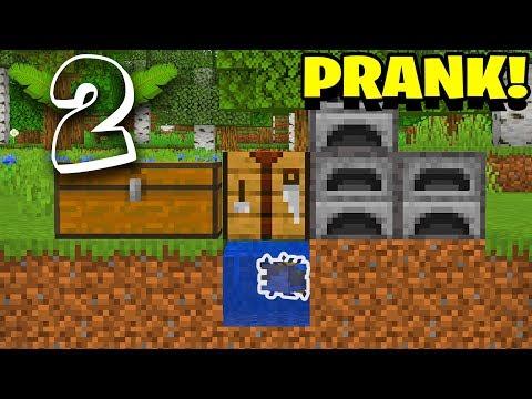 DEN FØRSTE PRANK PÅ SERVEREN!? Minecraft Prank Wars #2