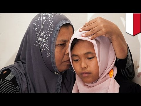 Indonesian girl swept from her home by tsunami, returns home after 10 years