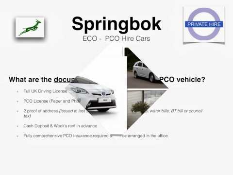 Springbok ECO- PCO Hire Cars