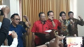 Download Video Resmi! Gubernur & Wagub Bali Terpilih Sampaikan Pernyataan Sikap Tolak Reklamasi Teluk Benoa MP3 3GP MP4