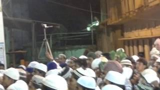 Hazrath Moulana Allama Syed Shah Kazim Pasha Quadri, At Milad Celebrations 2013 Vikarabad.