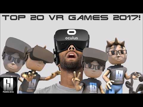 TOP 20 VR GAMES 2017! // Oculus Rift // GTX 1060 (6GB)