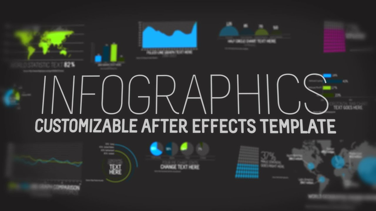 infographics after effects template youtube. Black Bedroom Furniture Sets. Home Design Ideas