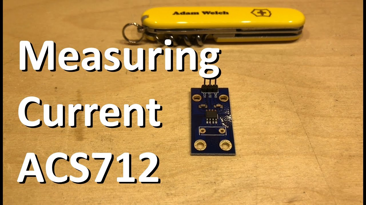 Measuring Current with ACS712 - Adam's Arduino Projects