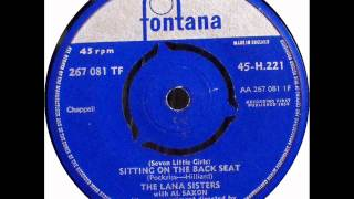 The Lana Sisters & Al Saxon - Seven little girls (Fontana AA 267 081 1F / 1959)