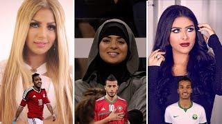 زوجات أشهر لاعبي كرة القدم العرب .. جمال غير طبيعي !
