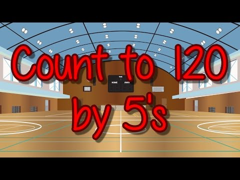 Count to 120 by 5's | Learn to Count | Skip Count | Jack Hartmann
