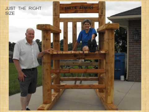 The Giant Rocking Chair Youtube