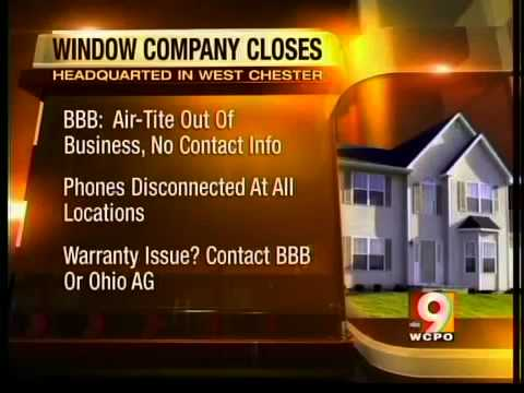 Cincinnati-based AIr-Tite Windows closes