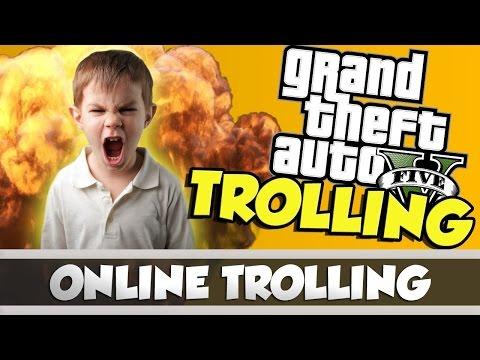 UN MODDEUR ME TROLL SUR GTA 5 ONLINE PS4/PS3 1.37