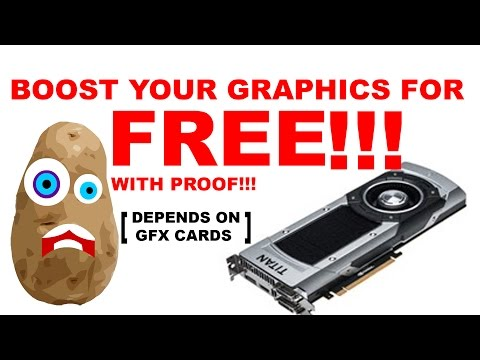 How to boost Graphics for FREE!!!