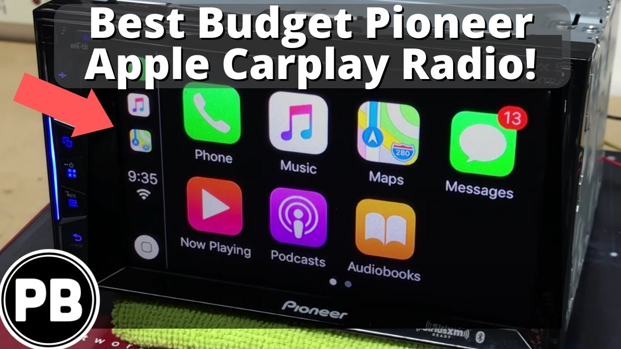 hight resolution of best budget carplay radio pioneer avh 1300nex 1400nex unboxing and demo by provo beast audio installation