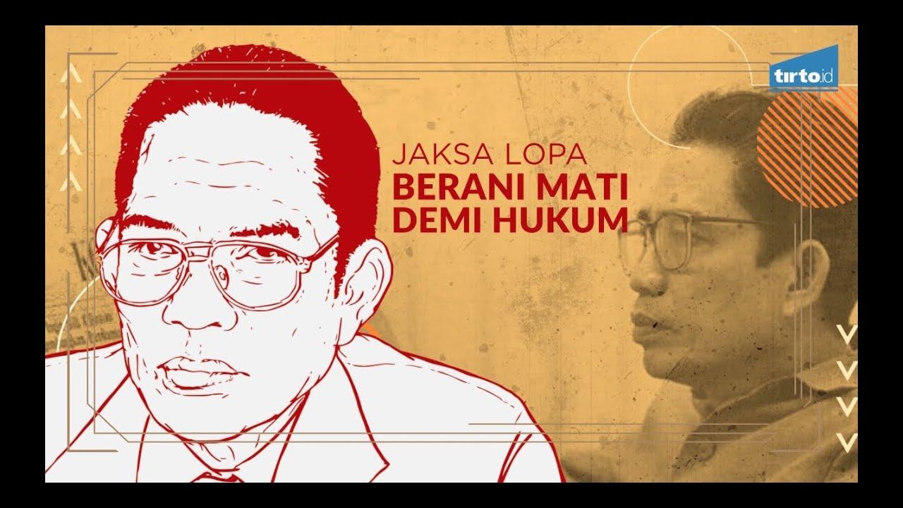 Baharudin Lopa Jaksa Agung Baharuddin Lopa Tirto Mozaik
