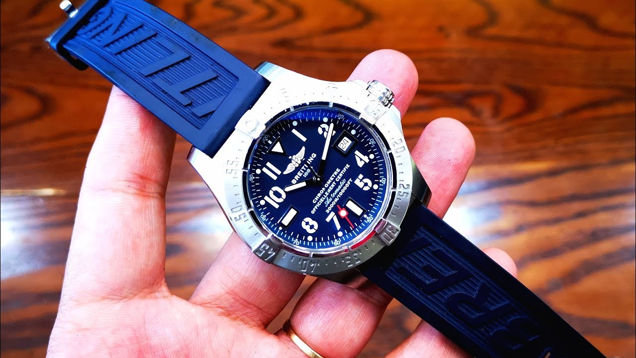[Review Đồng Hồ] Breitling Avenger Seawolf Blue A17330 | ICS Authentic