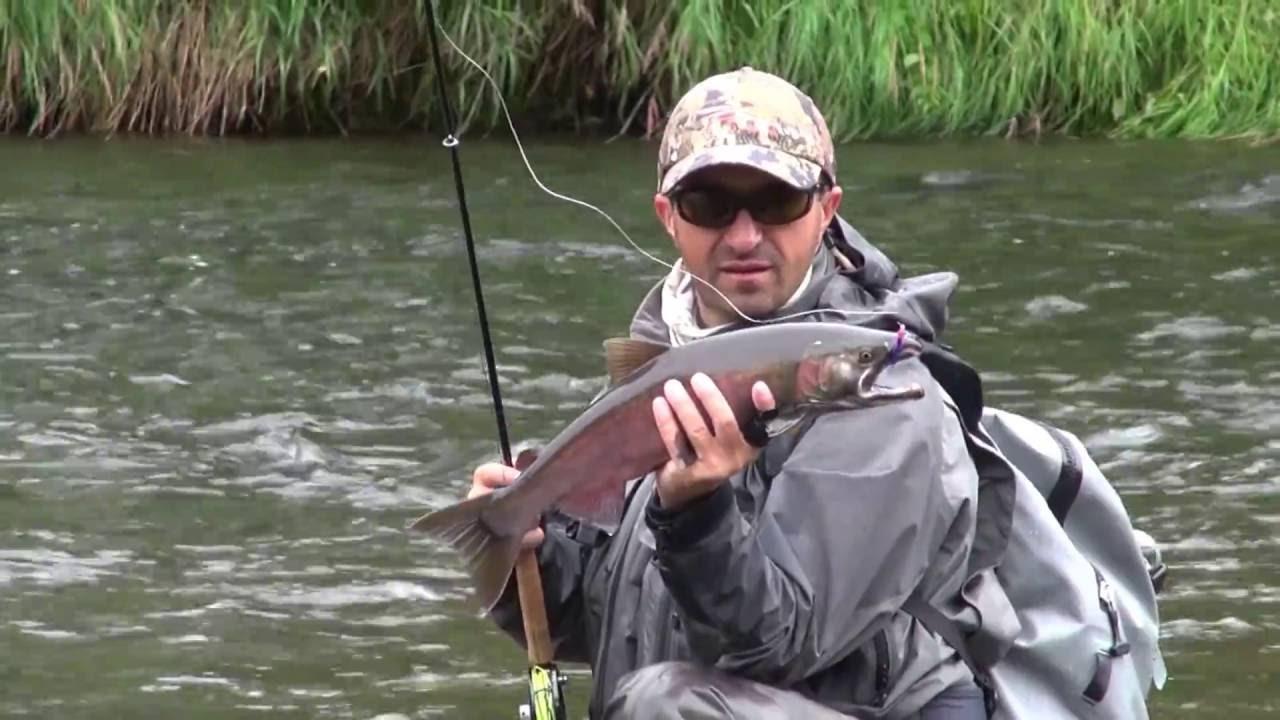 рыбалка на камчатке нахлыст