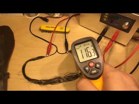 Carbon Fibre/Fiber Heating Element - 12v Solar Shed