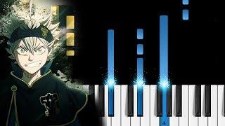 "Black Clover OP 3 -  ""Black Rover"" - Piano Tutorial / Piano Cover"