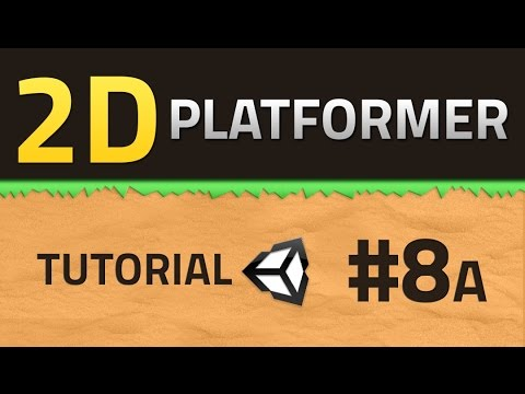 8A. How to make a 2D Platformer - SHOOTING - Unity Tutorial thumbnail