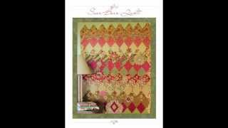 Sweet and Sassy Templates Diamond Quilts - Look Inside the Book