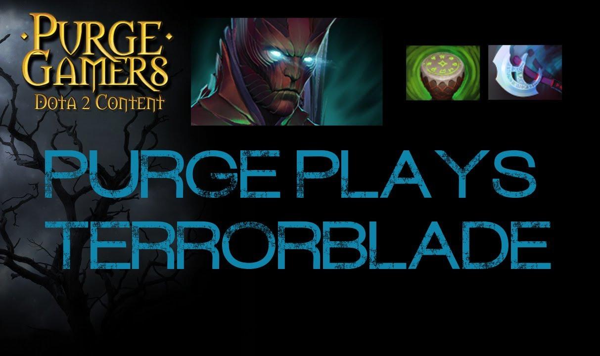 dota 2 purge plays terrorblade youtube