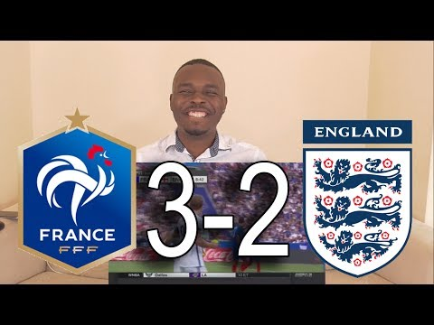 France vs England 3:2 Highlights 13/06/2017: Reaction By MTN