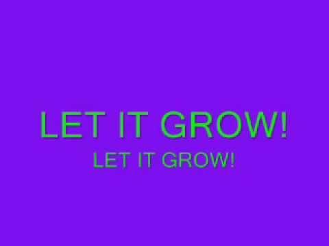 Let it Grow - Ester Dean - Lyrics!