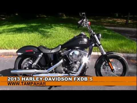 New 2013 Harley Davidson Street Bob For Sale - Call Price Specs Review