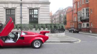 Lamborghini Countach 5000S Extreme sound!